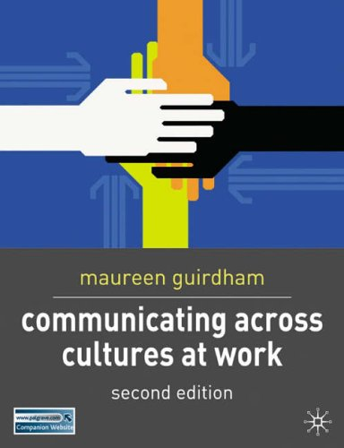 9781403913494: Communicating Across Cultures at Work