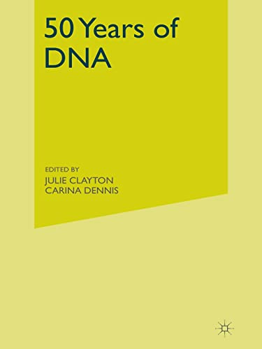 9781403914804: 50 Years of DNA