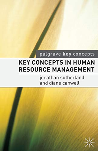 9781403915283: Key Concepts in Human Resource Management (Palgrave Key Concepts)