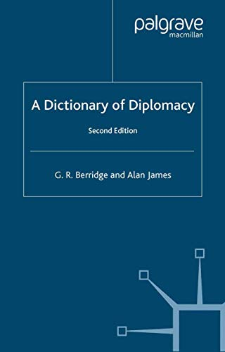 9781403915368: A Dictionary of Diplomacy, Second Edition