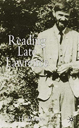 9781403915962: Reading Late Lawrence