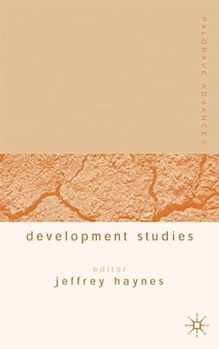 9781403916341: Palgrave Advances in Development Studies