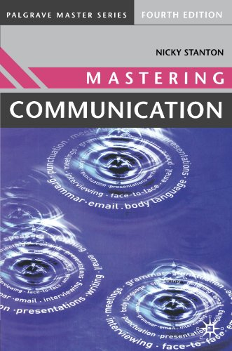 9781403917096: Mastering Communication: Fourth Edition (Palgrave Master Series)