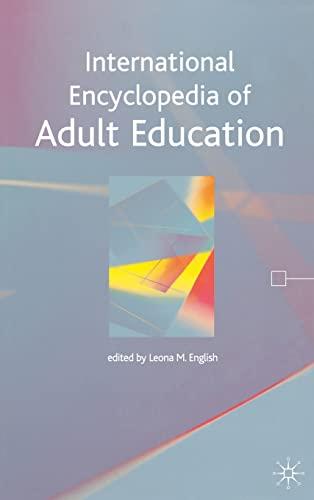 9781403917355: International Encyclopedia of Adult Education