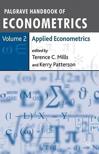 Palgrave Handbook of Econometrics: Applied Econometrics Volume 2 (Paperback)