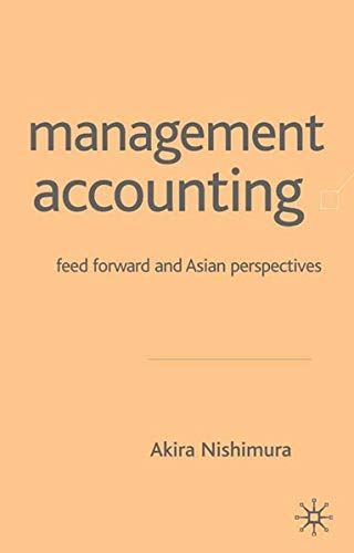 9781403918680: Management Accounting: Feed Forward and Asian Perspectives