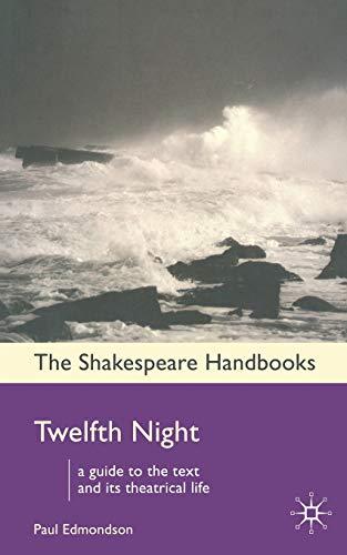 9781403920942: Twelfth Night (Shakespeare Handbooks)