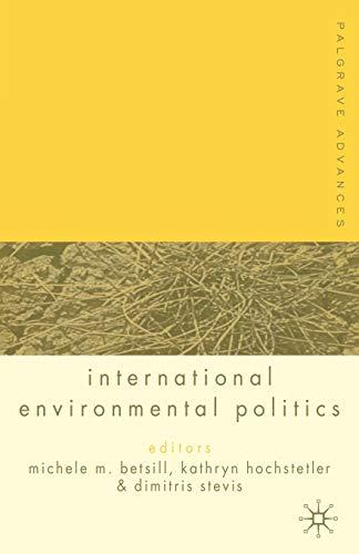9781403921079: Palgrave Advances in International Environmental Politics