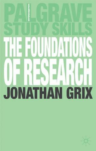 9781403921451: The Foundations of Research (Palgrave Study Guides)