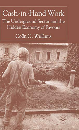 9781403921727: Cash-in-Hand Work: The Underground Sector and the Hidden Economy of Favours
