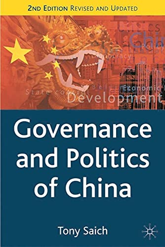 9781403921840: Governance and Politics of China, Second Edition (Comparative Government and Politics)