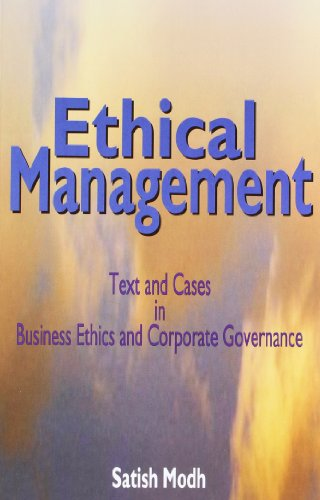 9781403926784: Textbook of Ethical Management
