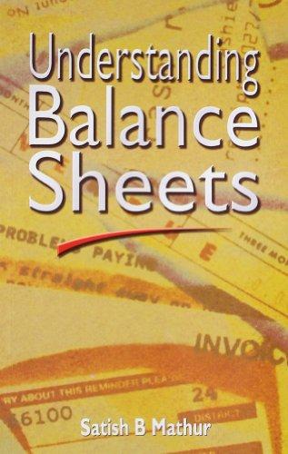 9781403928115: Understanding Balance Sheets