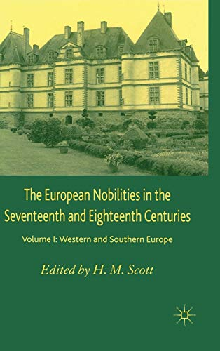 9781403933744: The European Nobilities Volume 1: Western and Southern Europe