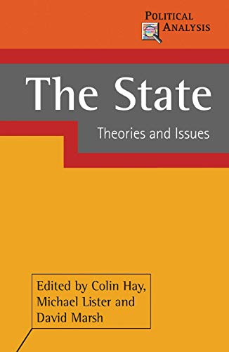 9781403934253: The State: Theories And Issues
