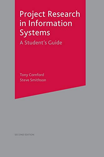 9781403934710: Project Research in Information Systems: A Student's Guide