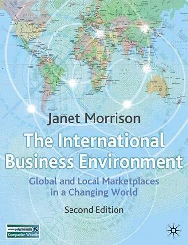 9781403936912: International Business Environment: Global and Local Marketplace in a Changing World