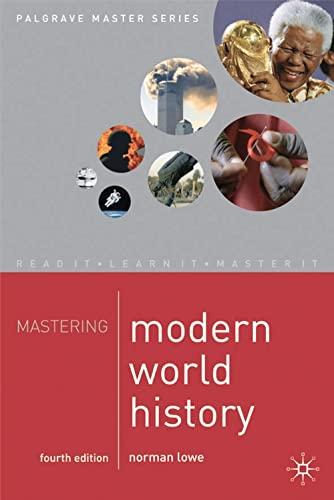 9781403939821: Mastering Modern World History, 4th Ed. (Palgrave Master)