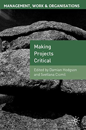 9781403940858: Making Projects Critical (Management, Work and Organisations)