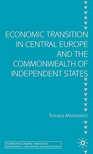 9781403941626: Economic Transition in Central Europe and the CIS Countries (Studies in Economic Transition)