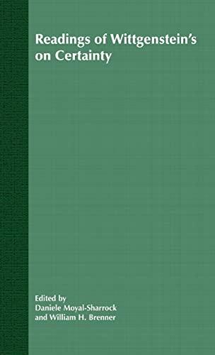 Understanding of Wittgenstein's On Certainty