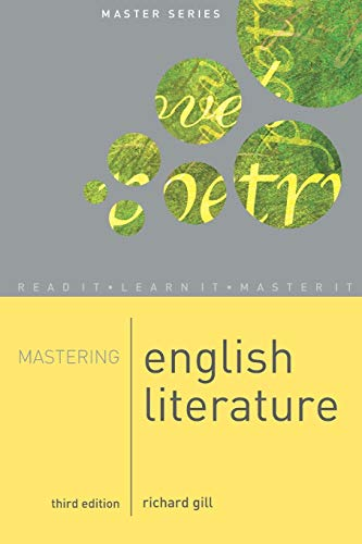 9781403944887: Mastering English Literature [Lingua inglese]