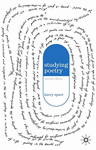 9781403945624: Studying Poetry