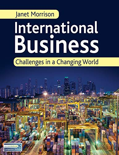9781403945631: International Business: Challenges in a Changing World