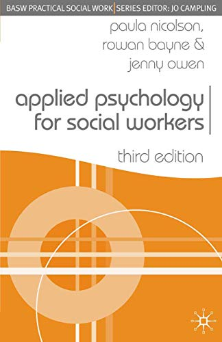 9781403945662: Applied Psychology for Social Workers (Practical Social Work Series)