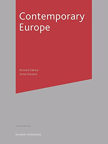 9781403945679: Contemporary Europe, Second Edition (Palgrave Foundation Series)