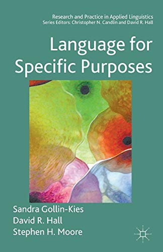 9781403946409: Language for Specific Purposes (Research and Practice in Applied Linguistics)