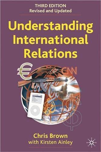 9781403946638: Understanding International Relations, Third Edition