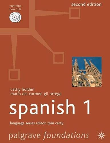 9781403946690: Foundations Spanish 1 (Palgrave Foundation Series Languages) (English and Spanish Edition)
