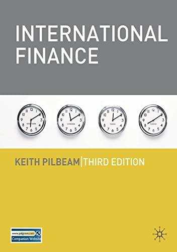 9781403948373: International Finance