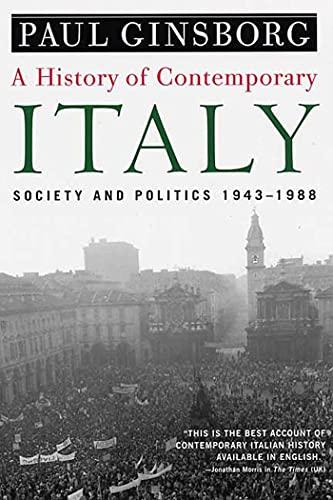 9781403961532: History of Contemporary Italy