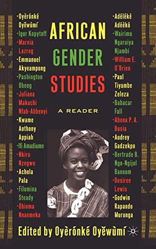 9781403962829: African Gender Studies: A Reader