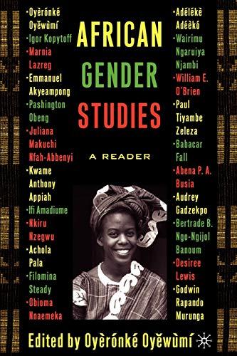 9781403962836: African Gender Studies: A Reader