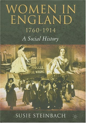 9781403967541: Women in England, 1760-1914: A Social History