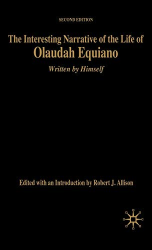 9781403971562: The Interesting Narrative of the Life of Olaudah Equiano: Written by Himself, Second Edition (Bedford Cultural Editions Series)