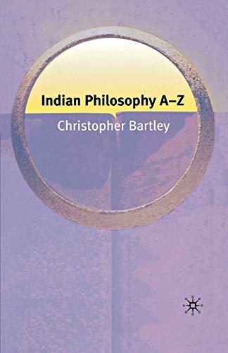 9781403972613: Indian Philosophy A-Z