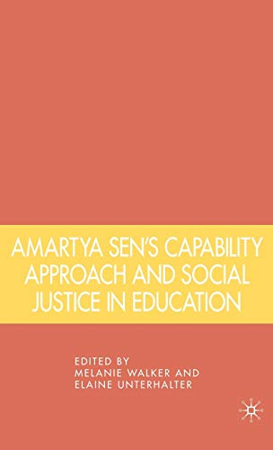 9781403975041: Amartya Sen's Capability Approach and Social Justice in Education