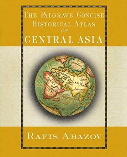 9781403975416: Palgrave Concise Historical Atlas of Central Asia