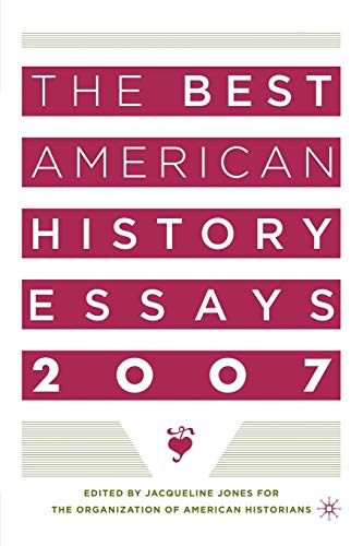 oah best american history essays A survey of the historical literature the american people have had a complex relationship with nature on the one hand, we have exploited the nation's natural resources with devastating speed -- clearing forests, damming rivers, killing wildlife, fouling the air and water with pollutants.