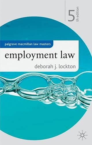 9781403985439: Employment Law