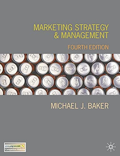9781403986276: Marketing Strategy and Management, 4th Edition