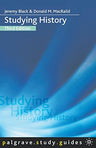 9781403987341: Studying History (Palgrave Study Guides)