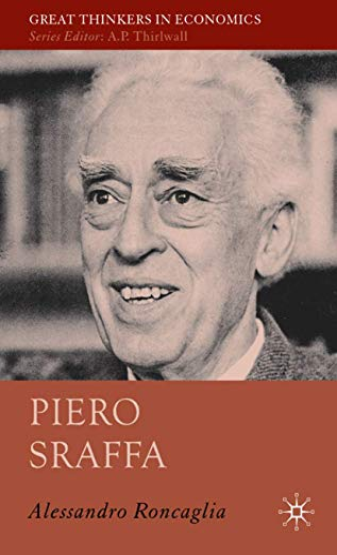 9781403987464: Piero Sraffa (Great Thinkers in Economics)