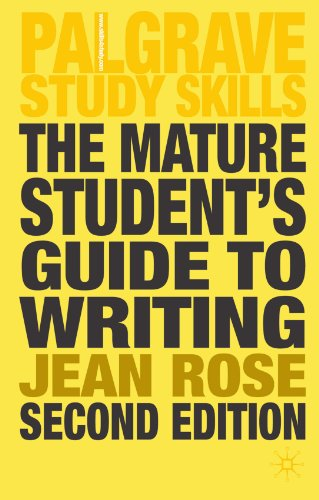 9781403989956: The Mature Student's Guide to Writing (Palgrave Study Guides)