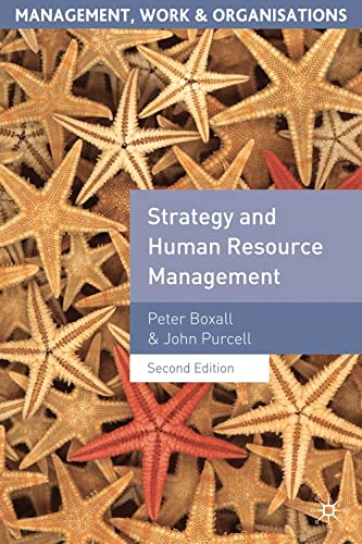 9781403992109: Strategy and Human Resource Management (Management, Work and Organisations)