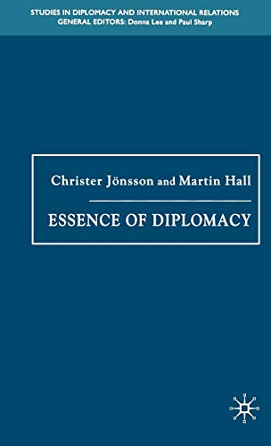 9781403992253: Essence of Diplomacy (Studies in Diplomacy and International Relations)